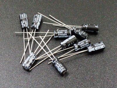 Cap Electrolytic 10uF 50V qty 10