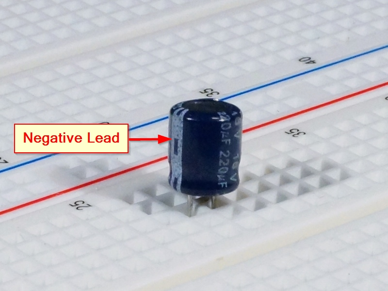 Capacitor Electrolytic 220uf 16v 10 Pack Protosupplies