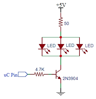 2N3904 Example Schematic
