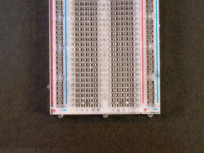 Breadboard MB102 400 Clear Numbering