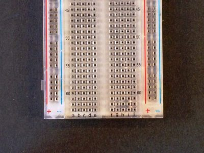 Breadboard MB102 830 Clear Numbering
