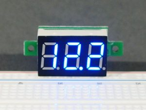 DVM 0-100V Blue