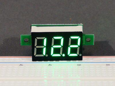 DVM 0-100V Green