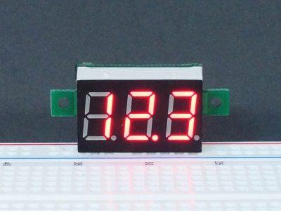 DVM 0-100V Red