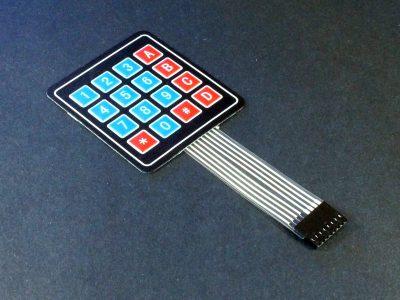 Membrane Keypad 4x4