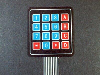 Membrane Keypad 4x4 - Keypad