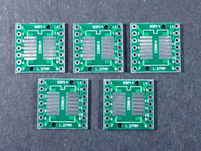 SMD SOP14 SSOP14 to DIP Adapter 5-Pack
