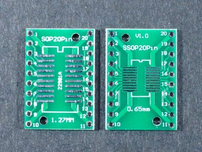 SMD SOP24 SSOP24 to DIP Adapter Top