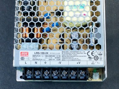Power Supply LRS-100-24 Connections