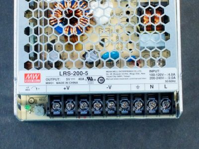 Power Supply LRS-200-5 Connections