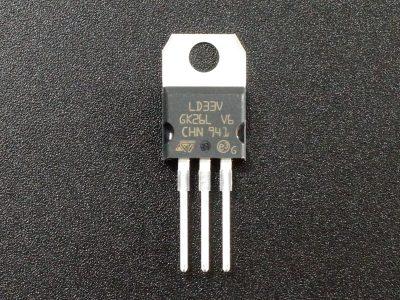 LDO Regulator LD1117V33 - 3.3V