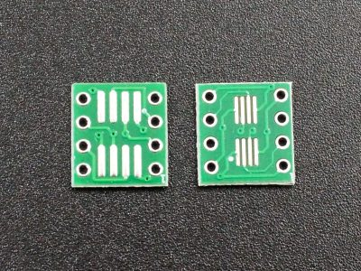 SMD SOIC-8 to DIP Adapter - Top and Bottom