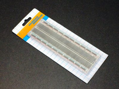 Solderless Clear Breadboard 830 - Packaging (Hobby Line)