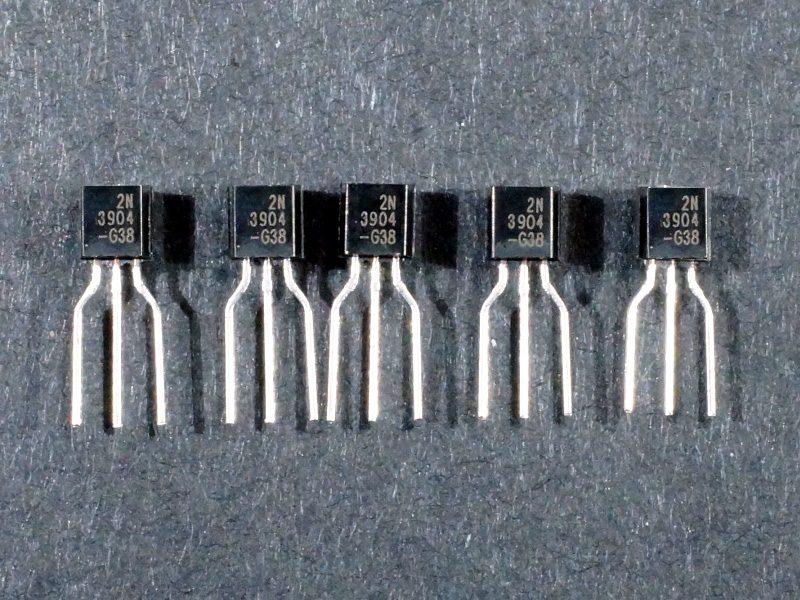 Transistor 2N3904 Qty 5