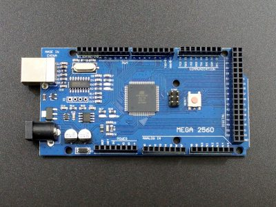 Arduino Compatible Mega 2560 R3 with CH340 USB - Top