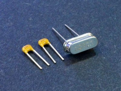 Crystal 12Mhz with 18pF Caps - View