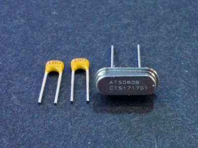 Crystal 8Mhz with 18pF Caps