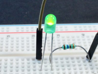 LED Green 5mm LiteOn - Operation