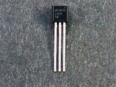 LM35 Analog Celsius Temp Sensor