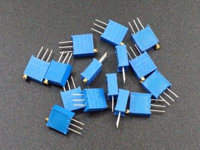 Potentiometer Kit Multi-Turn 15pcs