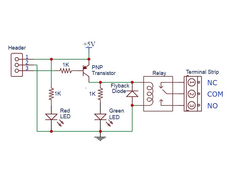 Schematic Relay Module - Read All Wiring Diagram on