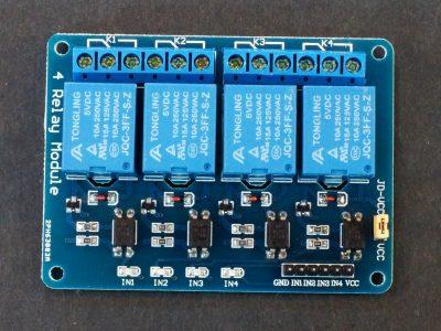 Relay Module 4 x 5V - Top