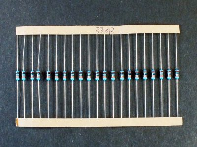 Resistor Kit 1% 1460Pcs - Example Strip