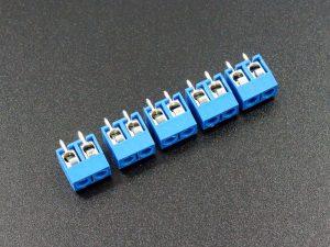Screw Terminal 5.08mm 2-Pin 5-Pack