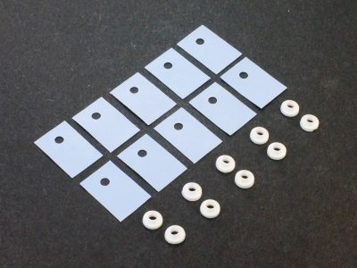 Silicon Thermal Pad with Bushing Washer Qty 10