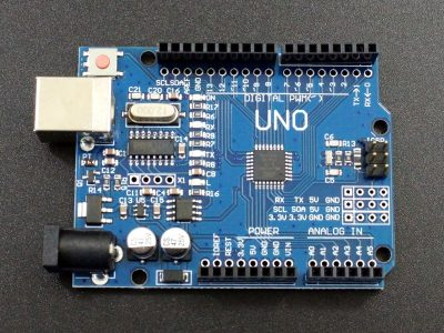 Uno R3 SMD with CH340 USB - Top