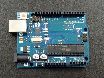 Arduino Compatible Uno R3 with ATMEGA16U2 USB - Top