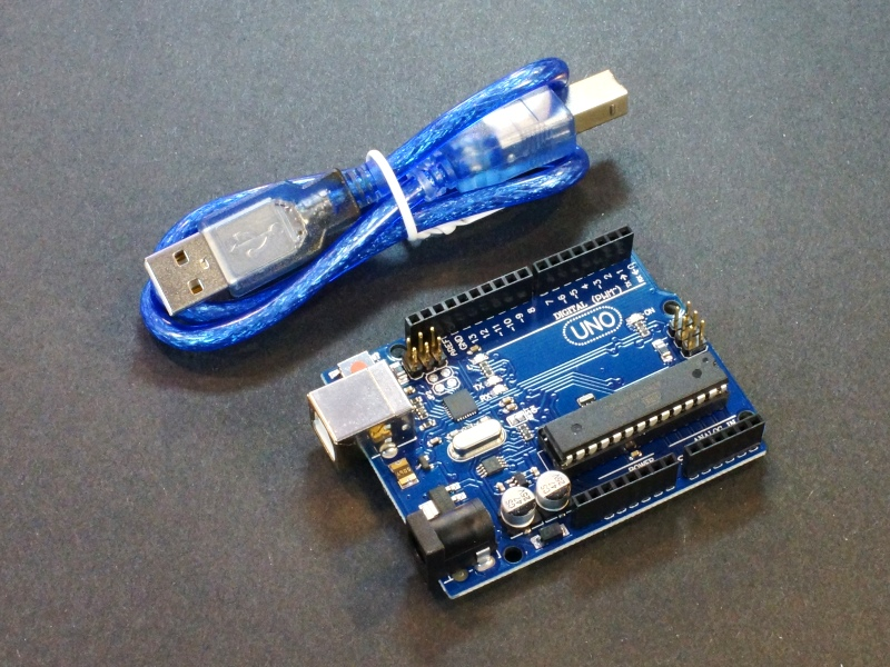 Uno r arduino compatible with usb cable protosupplies