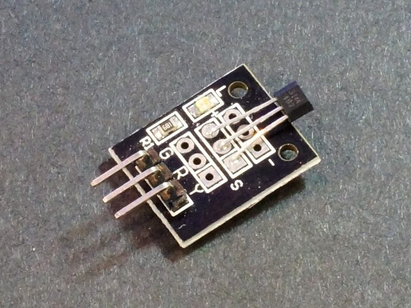 Digital Hall Effect Sensor