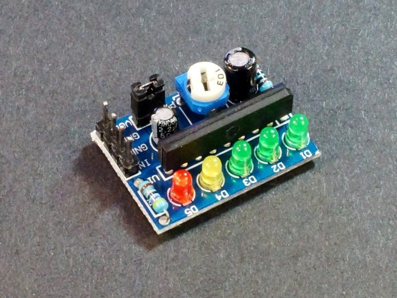 KA2284 Voltage Level Indicator Module