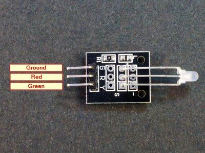 LED Bi-Color 3mm Module Connections