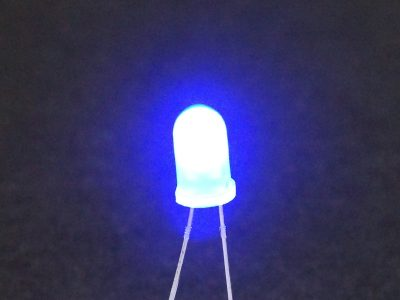LED Blue 5mm General Purpose - Operating