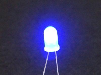 LED Blue 5mm General Purpose - Operating