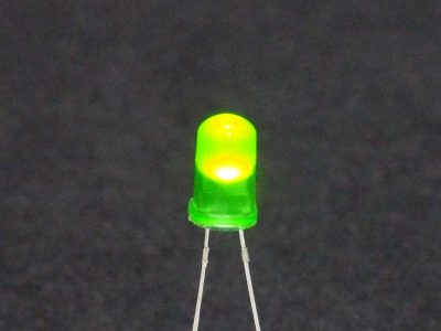 LED Green 5mm General Purpose - Operating