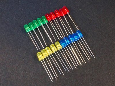 LED Red Green Yellow Blue Combo 5mm 20-Pack 2