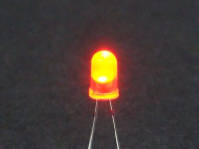 LED Red 5mm General Purpose - Operating