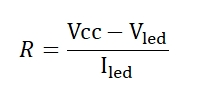 Calculating LED Resistor Values