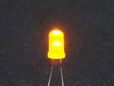 LED Yellow 5mm General Purpose - Operating