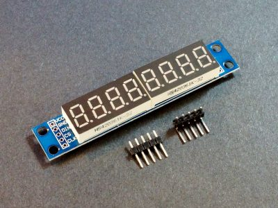 MAX7219 8-Digit 7-Seg Red Display Module