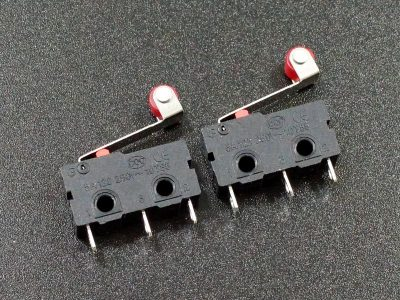 Microswitch with Roller Lever SPDT 5A - 2 Pack