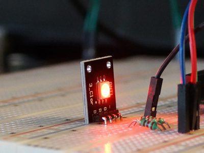 RGB SMD LED Module Operating