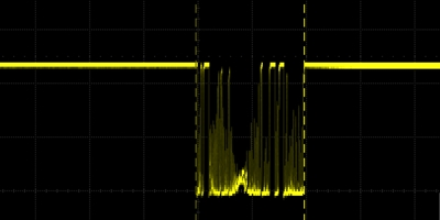 Shock Sensor Waveform Output
