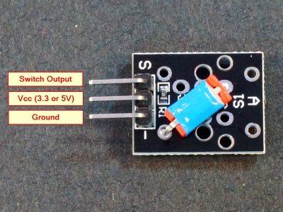Tilt Ball Switch Module Connections