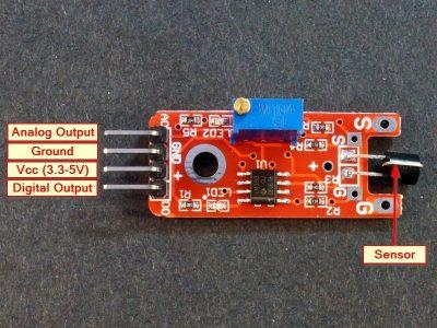 Touch Sensor Module Connections