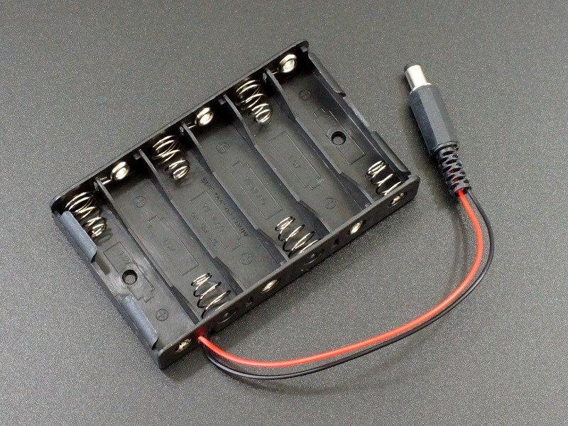 Battery Holder 6xAA