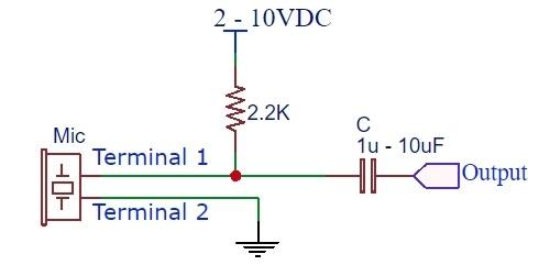Condenser Mic - Schematic Small